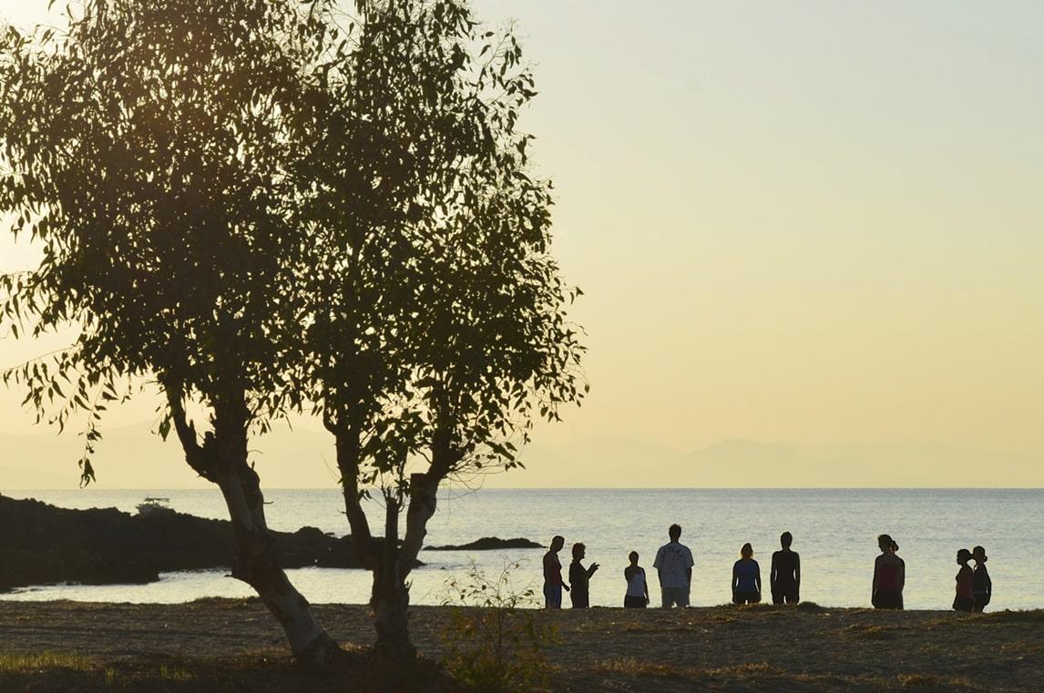 Strand nascholingsreis Griekenland