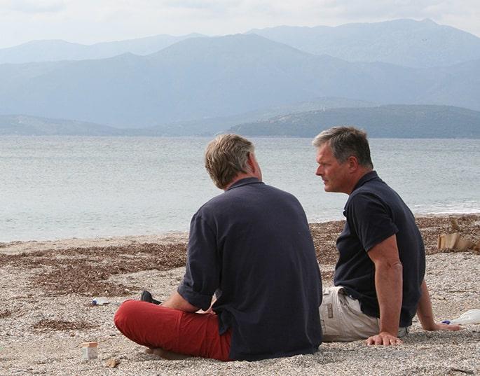 Nascholing-Griekenland mannen strand-min